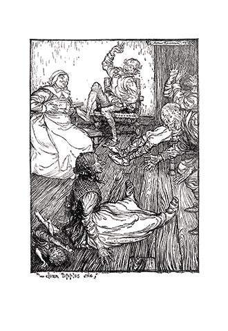 A Midsummer-Night's Dream - llustrated by Arthur Rackham