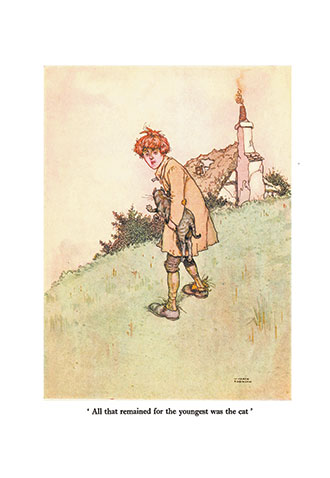 Old-Time Stories Told By Master Charles Perrault - Illustrated by W. Heath Robinson