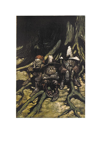 Rip Van Winkle - Illustrated by Arthur Rackham