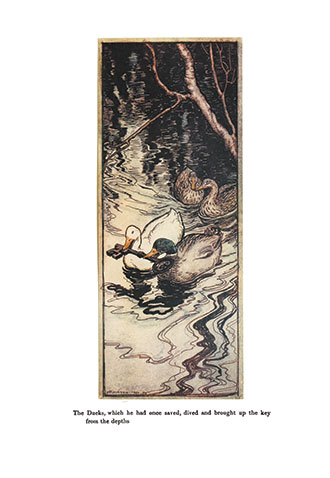Snowdrop and Other Tales - Illustrated by Arthur Rackham
