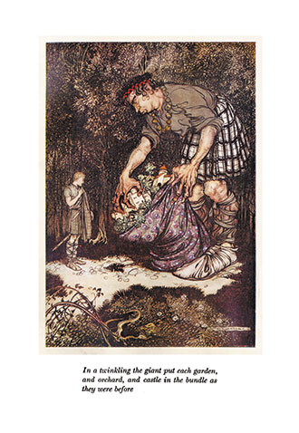 The Allies' Fairy Book - Illustrated by Arthur Rackham
