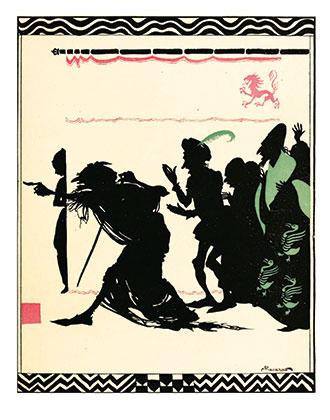 The Sleeping Beauty - Illustrated by Arthur Rackham