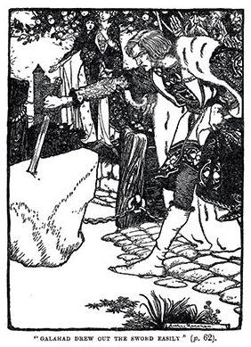 Stories of King Arthur - Illustrated by Arthur Rackham
