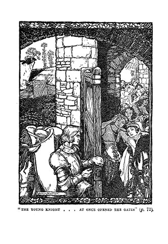Stories of King Arthur - Illustrated by Arthur Rackham