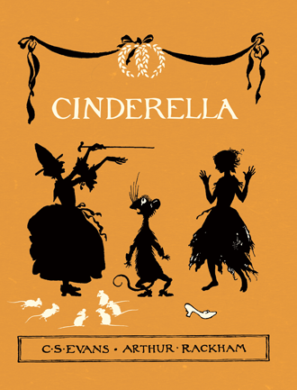 Cinderella illustrated by Arthur Rackham Cover