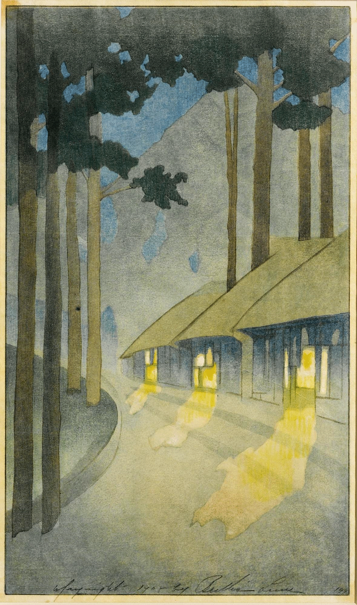 Road to the Forest by Bertha Lum