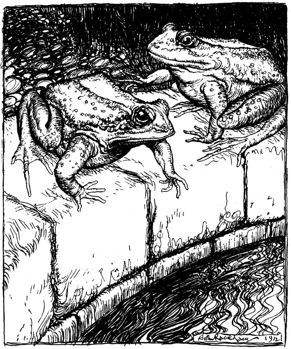 The Frogs at the Well, 1912.