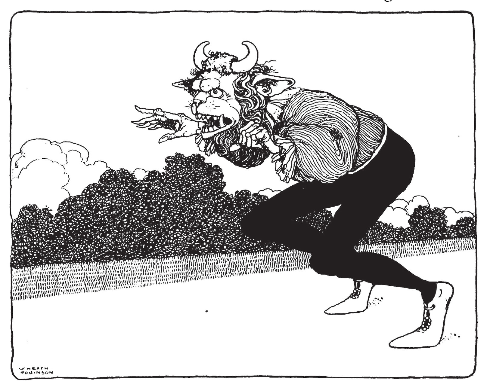 Beauty and the Beast by W. H. Robinson
