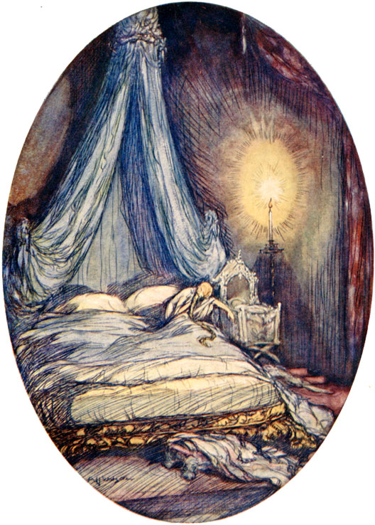 Rumpelstiltskin Illustration by A.H. Watson