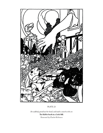 The Alice in Wonderland Colouring Book – Vol. I
