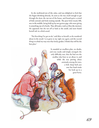 The Illustrated Alice in Wonderland