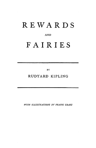 Rewards and Fairies - Illustrated by Frank Craig