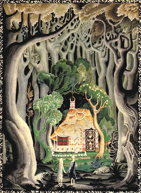 From Hansel and Gretel and Other Stories by Kay Nielsen.