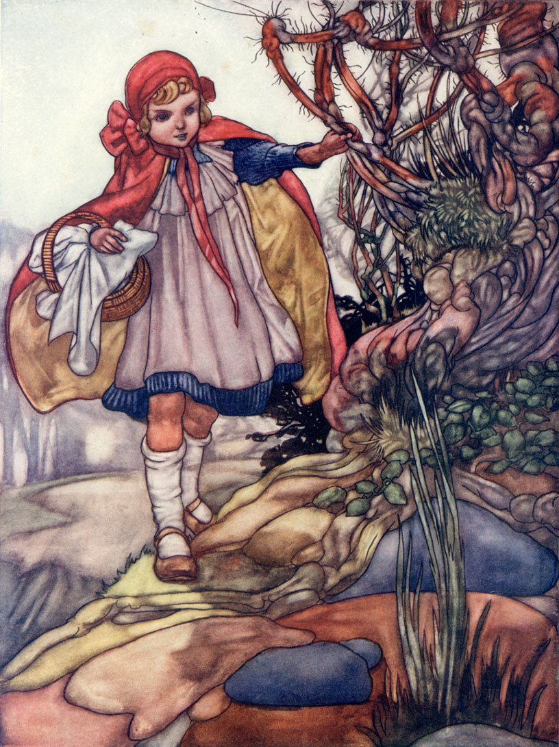 The Big Book of Fairy Tales - Illustrated by Charles Robinson