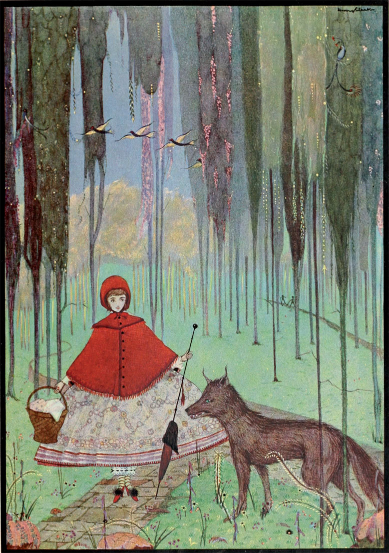 The Fairy Tales of Charles Perrault - Illustrated by Harry Clarke