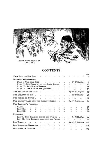 Children's Stories From Old British Legends - Harry G. Theaker