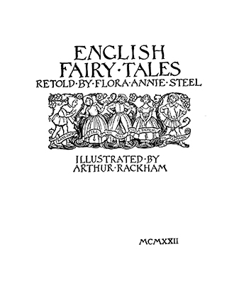 English Fairy Tales - Arthur Rackham