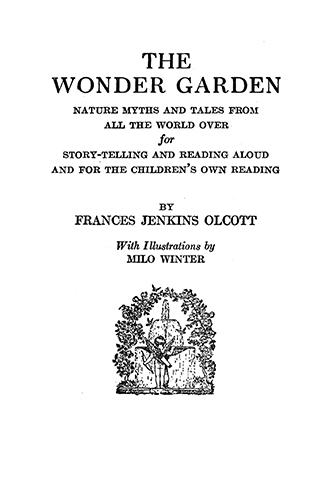 The Wonder Garden - Milo Winter
