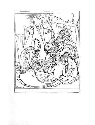 Comus - Arthur Rackham