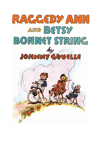 Raggedy Ann and Betsy Bonnet String - Johnny Gruelle