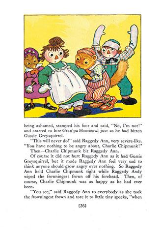 Raggedy Ann in the Deep Deep Woods - Johnny Gruelle