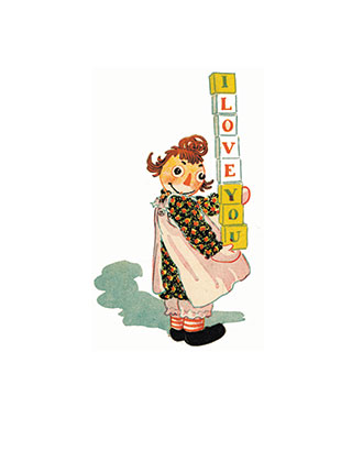 Raggedy Ann's Alphabet Book - Johnny Gruelle