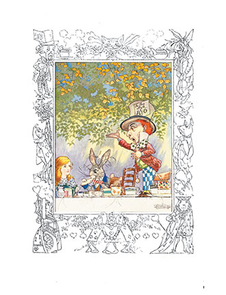 Songs From Alice in Wonderland - Charles Folkard