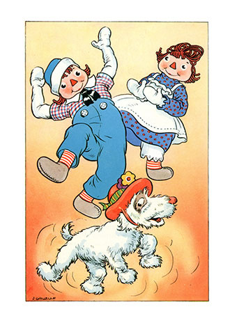 Raggedy Ann and the Golden Butterfly - Johnny Gruelle