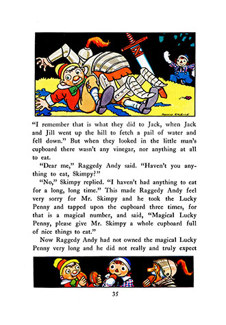 Raggedy Ann's Lucky Pennies - Johnny Gruelle