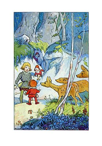Friendly Fairies - Johnny Gruelle