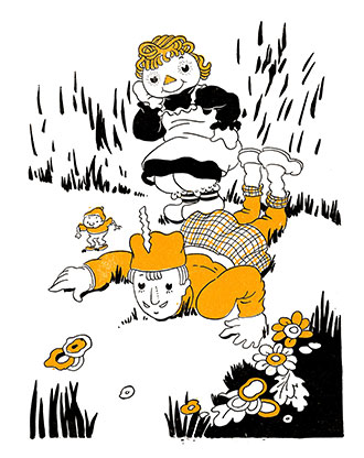 Raggedy Ann and the Laughing Brook - Johnny Gruelle