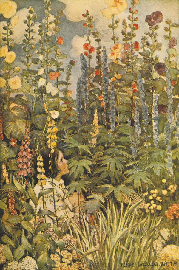 A Child's Garden of Verse - Illustrations by Jessie Wilcox Smith