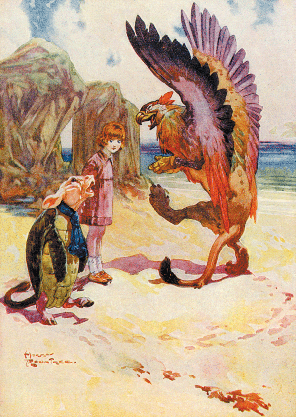 Alices Adventures in Wonderland - Illustration by Harry Rountree