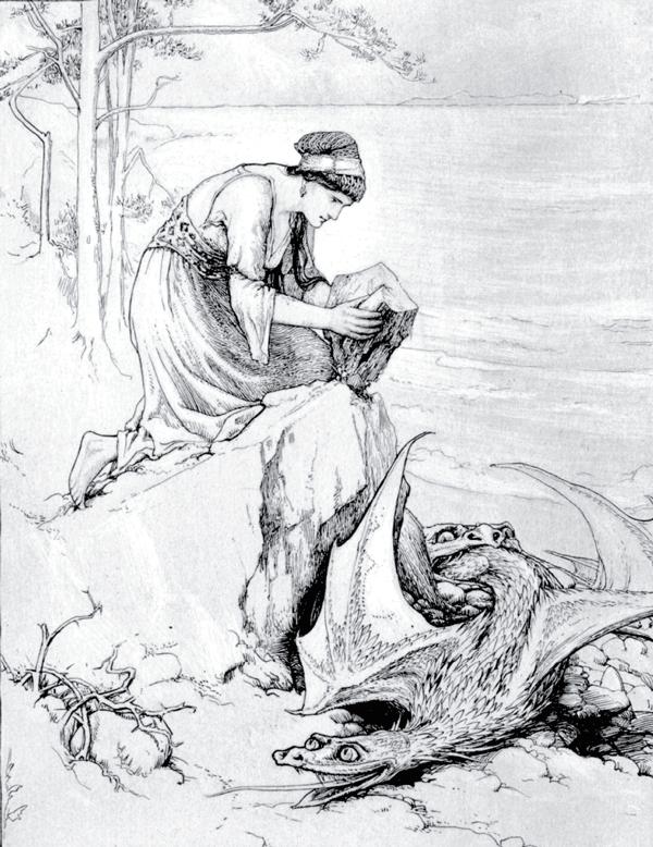 Fairy Tales From The Arabian Nights - Illustration by John D. Batten