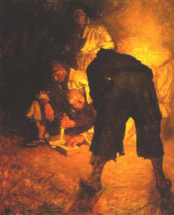 Treasure Island - Illustrations by N. C. Wyeth