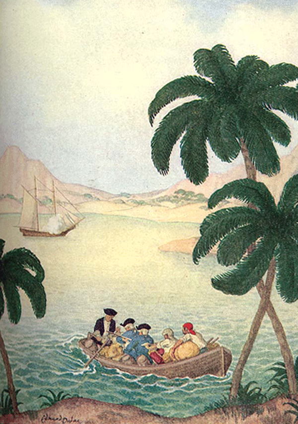 Treasure Island - Illustrations by Edmund Dulac