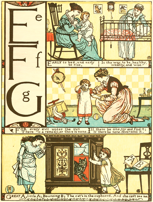 The Sleeping Beauty Picture Book - Illustrated by Walter Crane