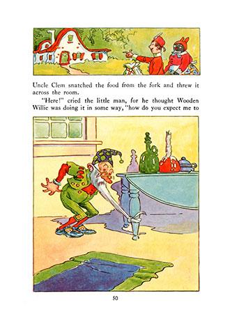 Wooden Willie - Johnny Gruelle