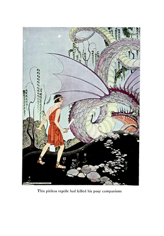Tanglewood Tales – by Nathaniel Hawthorne illustrated by Virginia Frances Sterrett - 6