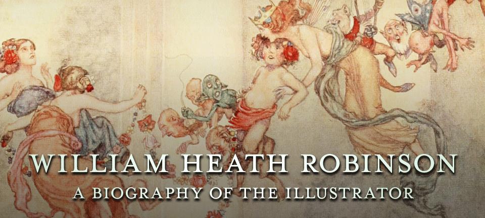 Pook Press William Heath Robinson   Books and Illustrations