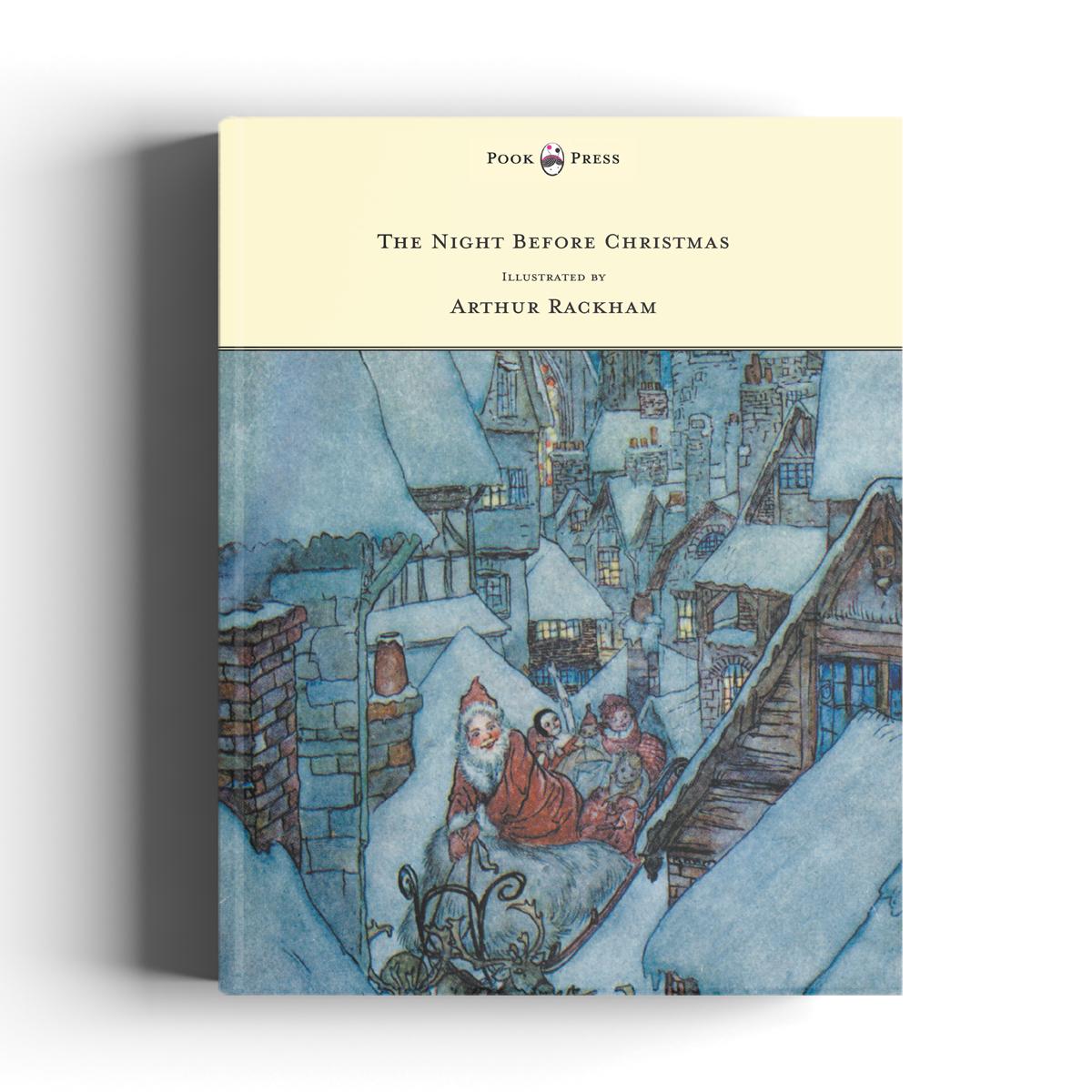 The Night Before Christmas with Arthur Rackham Art