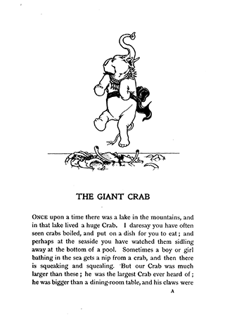 The Giant Crab and Other Tales From Old India - Illustrated by W. Heath Robinson