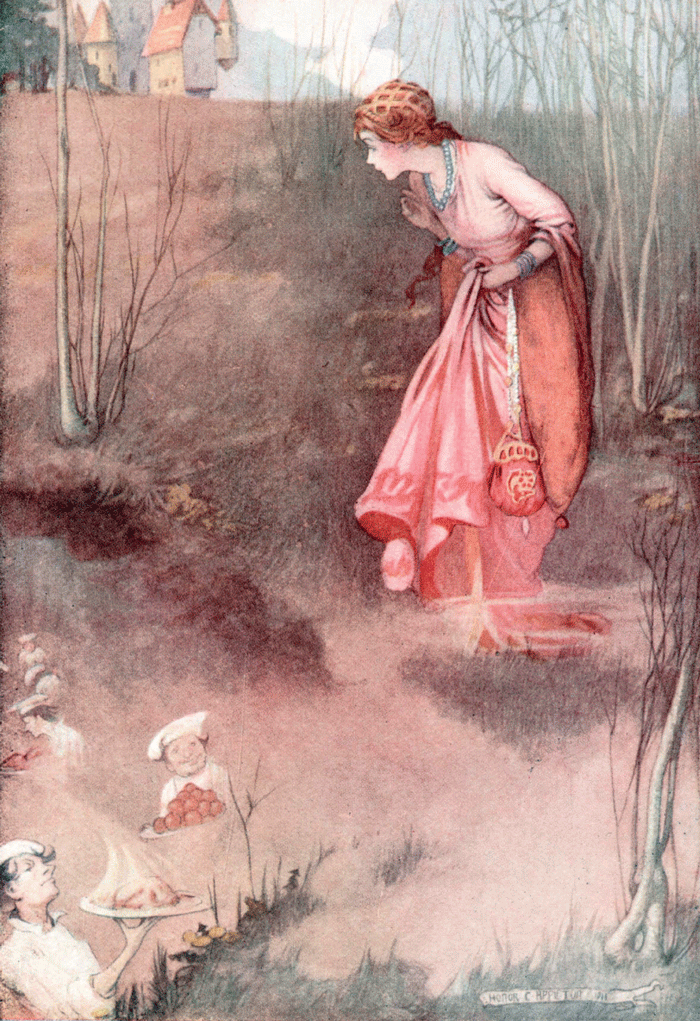 Perrault's Fairy Tales – Illustrated by Honor C. Appleton