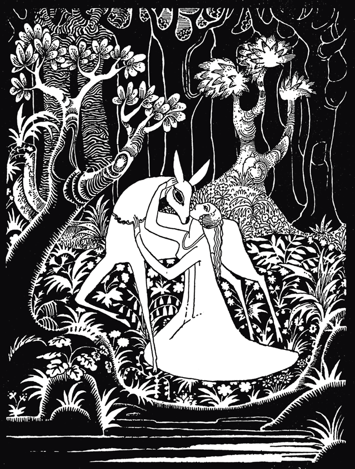 From Hansel and Gretel and Other Brothers Grimm Stories by Kay Nielsen