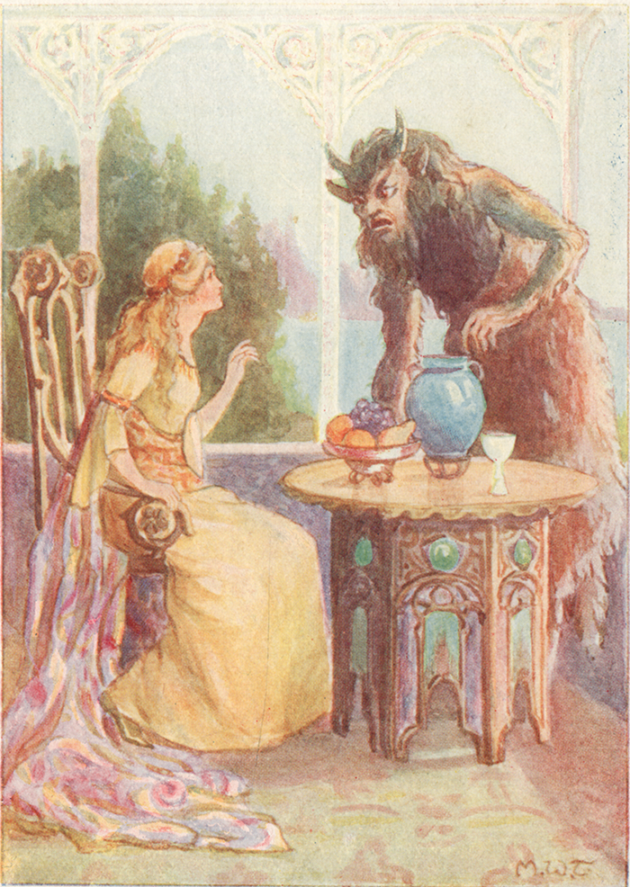 Beauty and the Beast by Margaret Tarrant