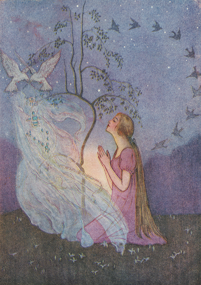 Grimm's Fairy Tales illustrated by Elenore Abbott
