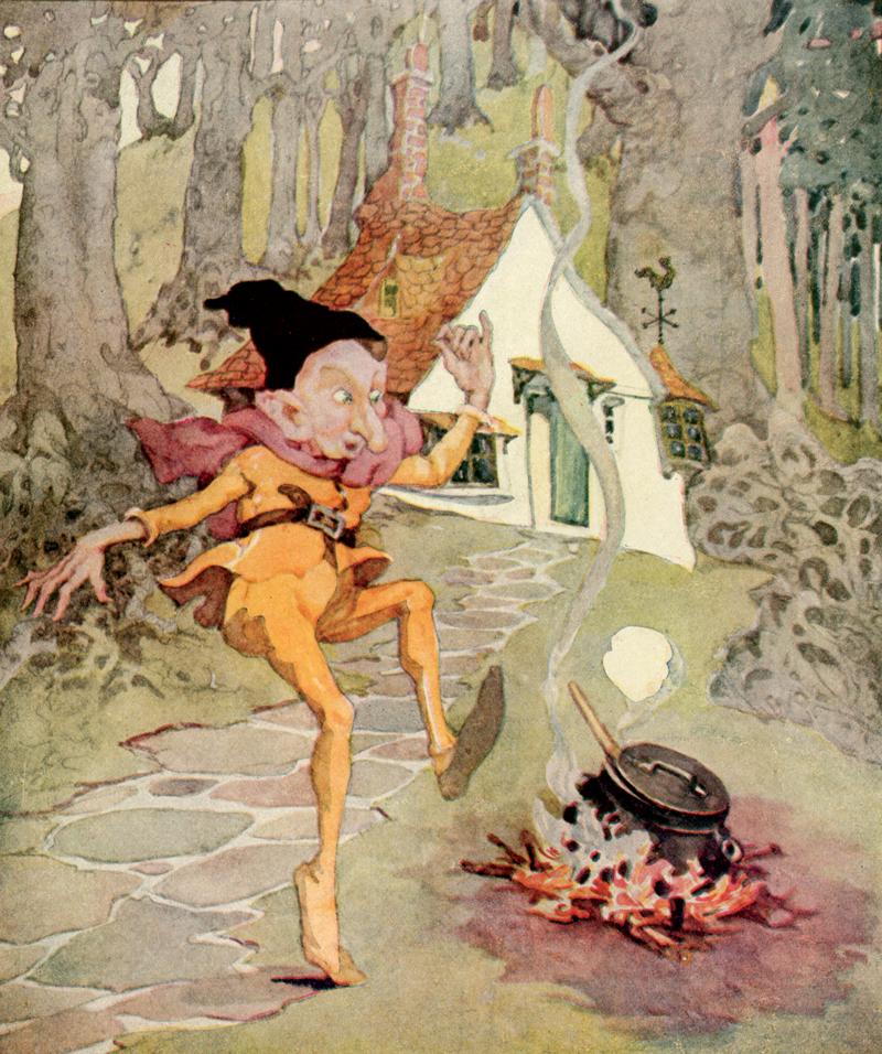 Rumpelstiltskin illustration by Anne Anderson