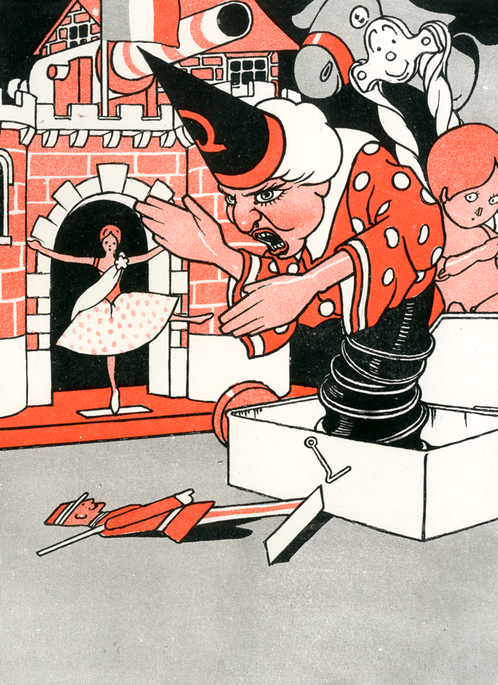 The Steadfast Tin Soldier illustration by Charles Robinson