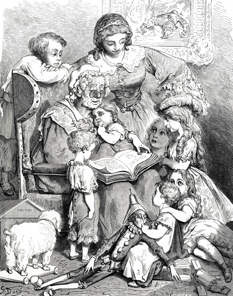 perraults fairy tales gustave Dore