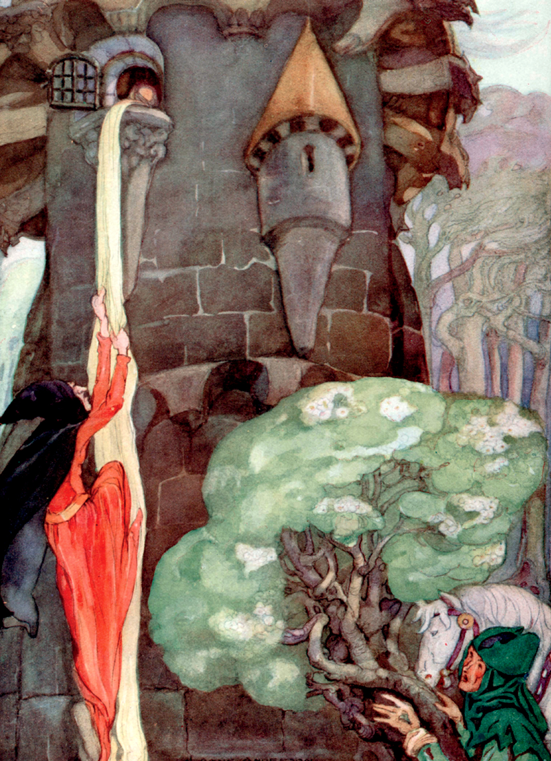 Rapunzel, Anne Anderson, Brothers Grimm